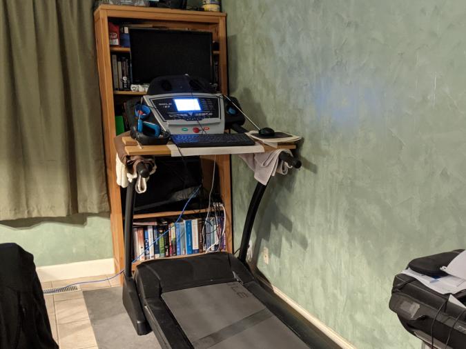 Treadmill Gaming Computer
