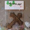 Wooden Cross Magnet 001 - Martha Bechtel - Front Desk