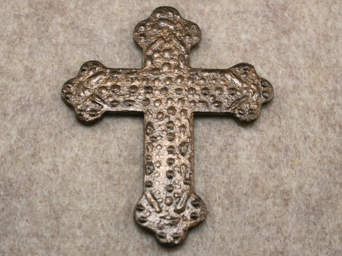 Wooden Cross Magnet 001 - Martha Bechtel - Gallery Image
