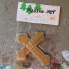Wooden Cross Magnet 003 - Martha Bechtel - Front Desk