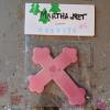 Wooden Cross Magnet 005 - Martha Bechtel - Front Desk