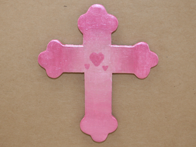 Wooden Cross Magnet 005 - Martha Bechtel - Gallery Image