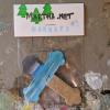 Wooden Cross Magnet 007 - Martha Bechtel - Front Desk