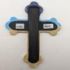 Wooden Cross Magnet 009 - Martha Bechtel - Back White