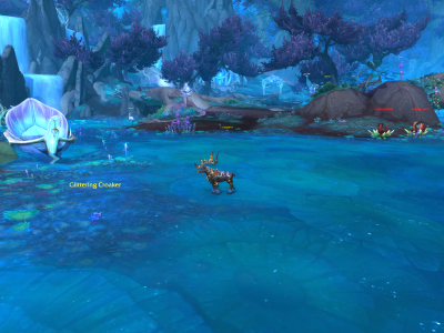 World of Warcraft - A Tiny Deer of Wrath - Icepaw