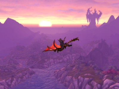 World of Warcraft - Awesome Sunsets - Featherpaw