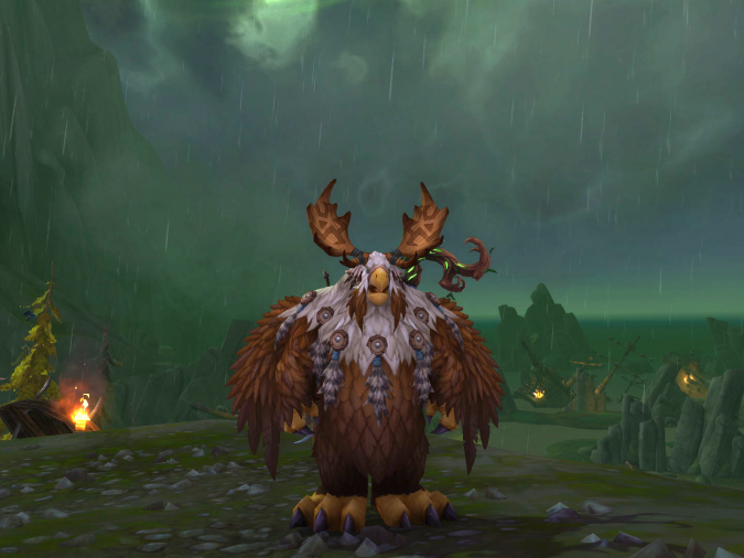 World of Warcraft - Just a LaserChicken in the Rain - Featherpaw