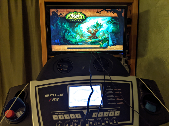 World of Warcraft - Walk ALL the minutes - Treadmill Computer