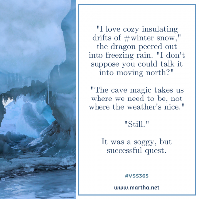 vss365 winter - Twitter prompt response