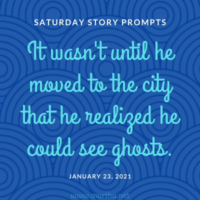 059 Saturday Story Prompts 2021-01-23
