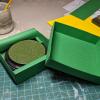 5 inch Round Grass Base - Storage box