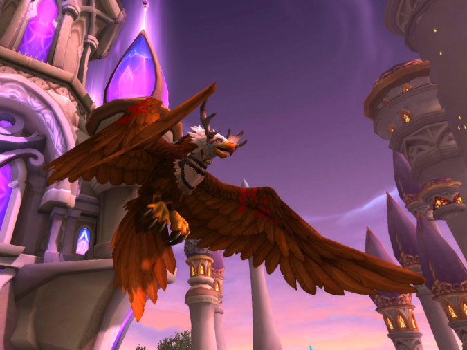 World of Warcraft - Who's a Pretty Bird - Featherpaw