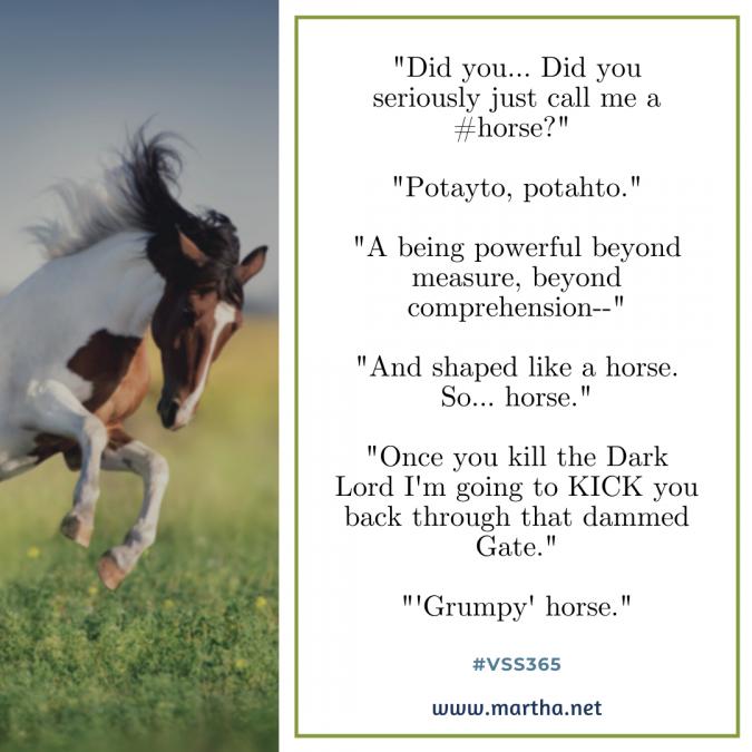 vss365 horse - Twitter prompt response