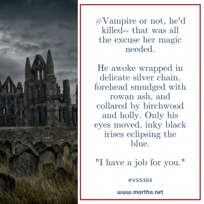 vss365 vampire - Twitter prompt response