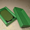 3x5 French Corners Rectangle - Grass Mix - Template A - Martha Bechtel - Model Horse Base - Box