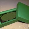3x5 Scalloped Oval - Grass Mix - Martha Bechtel - Model Horse Base - Box