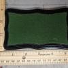 3x5 Scalloped Rectangle - Grass Mix - Template A - Martha Bechtel - Model Horse Base - Scale