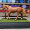 5 inch Dark Walnut - Template A Stablemate Scale Model Horse - portrait