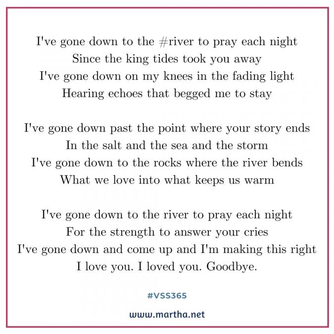 vss365 river - Twitter prompt response