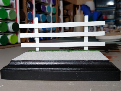 3x5 Model Horse Base - Rectangle - Sand and Grass - Martha Bechtel - Sand