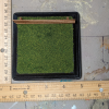 4 inch Square Grass Base with Fence - Micro Mini Scale - Scale