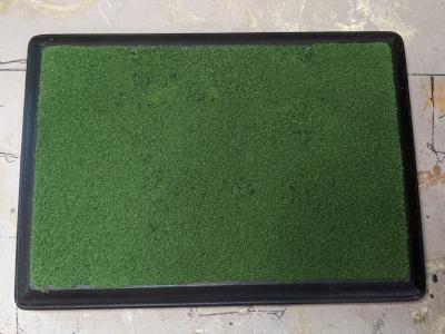 5x7 Model Horse Base - Sand and Grass - Martha Bechtel - Grass Example