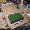 5x7 Model Horse Base - Sand and Grass - Martha Bechtel - Packing Box