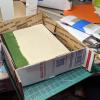 7x9 Model Horse Base - Sand and Grass - Martha Bechtel - Packing Box