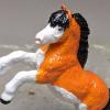 Davy - Custom Safari Ltd TOOB Rearing Pony - Martha Bechtel - Headshot