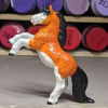 Davy - Custom Safari Ltd TOOB Rearing Pony - Martha Bechtel - Left