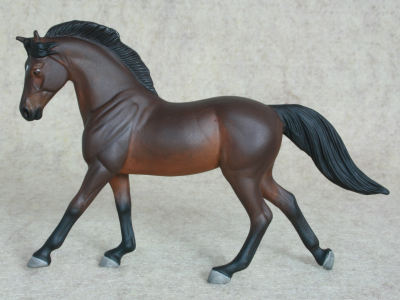 Escape Velocity - Custom Breyer Stablemate Warmblood - Martha Bechtel - Gallery