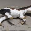 Mairzy Dapples - Custom Safari Ltd TOOB Walking Pony - Martha Bechtel - Tummy