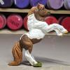 Rusty - Custom Safari Ltd TOOB Rearing Pony - Martha Bechtel - Right