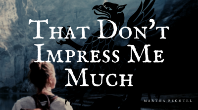 That Don't Impress Me Much - Blog Cover Image