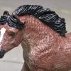 Blaze - Custom Safari Ltd TOOB Running Pony - Martha Bechtel - Headshot