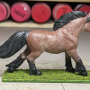 Blaze - Custom Safari Ltd TOOB Running Pony - Martha Bechtel - Right