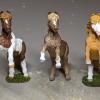 Custom Safari Ltd TOOB Rearing Pony - Martha Bechtel - Realistic Trio