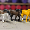 Custom Safari Ltd TOOB Walking Pony - Martha Bechtel - Pony Squad