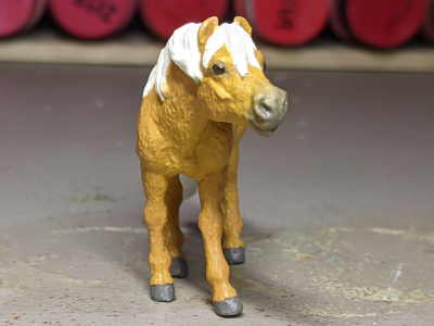 Daisy Mae - Custom Safari Ltd TOOB Standing Pony - Martha Bechtel - Nose