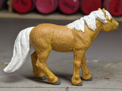 Daisy Mae - Custom Safari Ltd TOOB Standing Pony - Martha Bechtel - Right