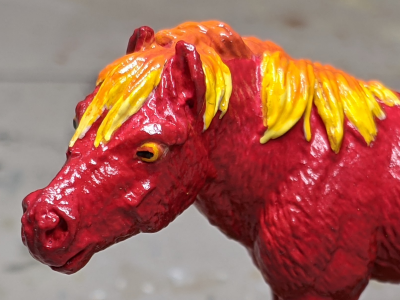 Ember - Custom Safari Ltd TOOB Standing Pony - Martha Bechtel - Headshot