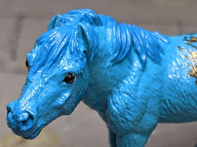 Faux Me Twice - Custom Safari Ltd TOOB Standing Pony - Martha Bechtel - Headshot