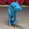 Faux Me Twice - Custom Safari Ltd TOOB Standing Pony - Martha Bechtel - Nose