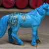 Faux Me Twice - Custom Safari Ltd TOOB Standing Pony - Martha Bechtel - Right