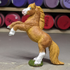 Flash - Custom Safari Ltd TOOB Rearing Pony - Martha Bechtel - Left