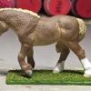 Ginger - Custom Safari Ltd TOOB Walking Pony - Martha Bechtel - Left