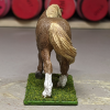 Ginger - Custom Safari Ltd TOOB Walking Pony - Martha Bechtel - Tail