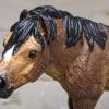 Halfpint - Custom Safari Ltd TOOB Standing Pony - Martha Bechtel - Headshot