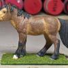 Halfpint - Custom Safari Ltd TOOB Standing Pony - Martha Bechtel - Left