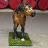 Halfpint - Custom Safari Ltd TOOB Standing Pony - Martha Bechtel - Nose